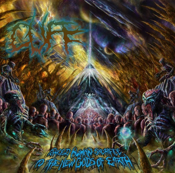 Image of CUFF-Forced Human Sacrifice To The New Gods Of Earth CD