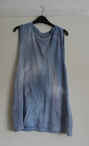 Image of Blue/Purple/Pink Drop Armhole Tunic/Vest