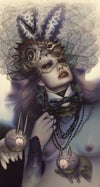 """EXCLUSIVE <br>""""Once a Playmate, Always a Playmate"""" <br>Canvas Giclee Print <br>by Dan Quintana"""