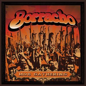 "Image of Borracho - Mob Gathering 7"" (Orange/Black swirl)"