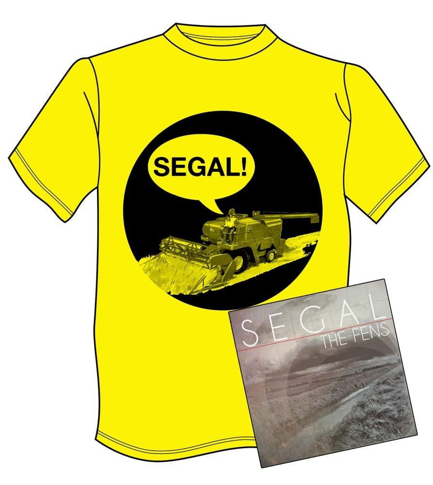 Image of The Fens CD + Tshirt Bundle by Segal
