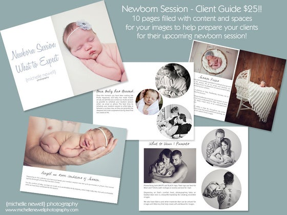 Image of Newborn Client Guide Template