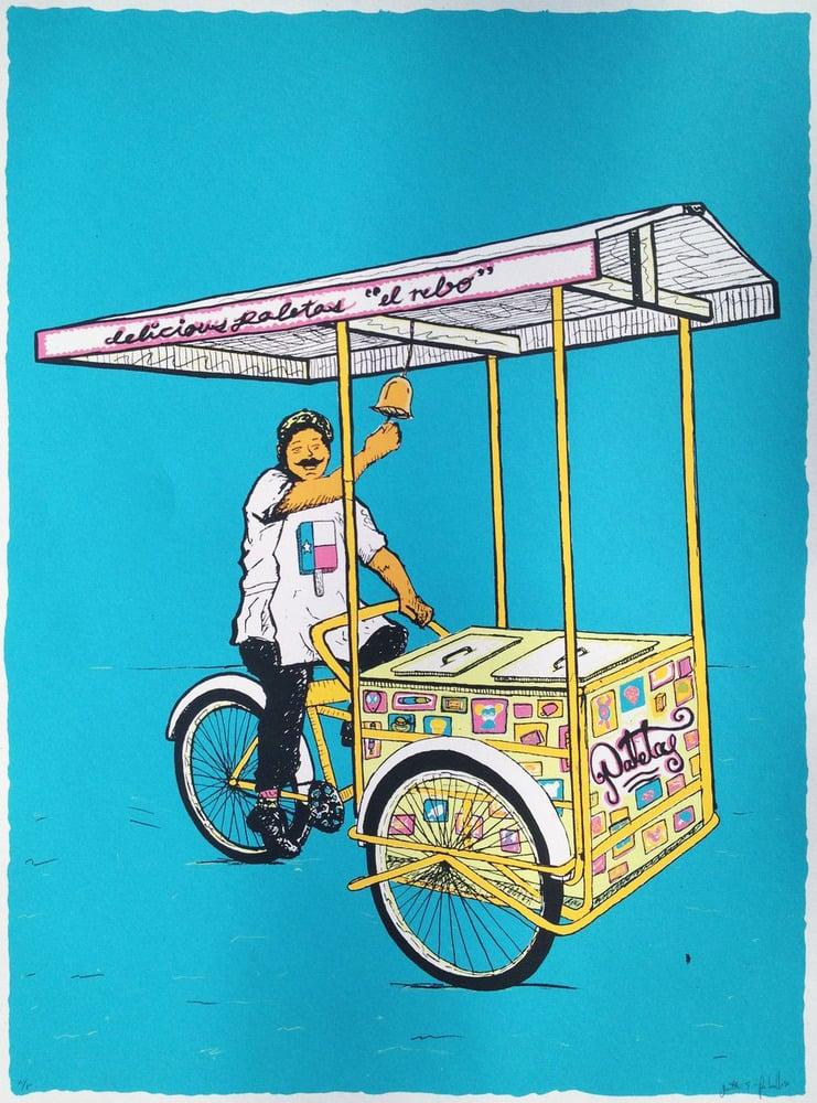 Image of Paletas y bicicletas