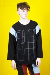 Image of H Mesh Baseball Top