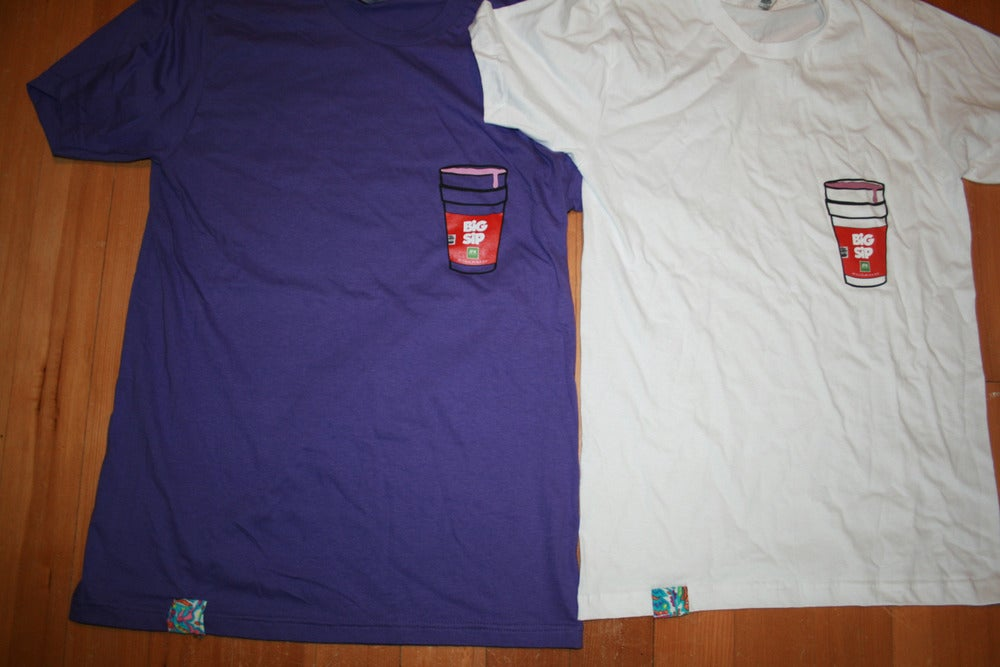 Image of Big Sip Tee (Purps)