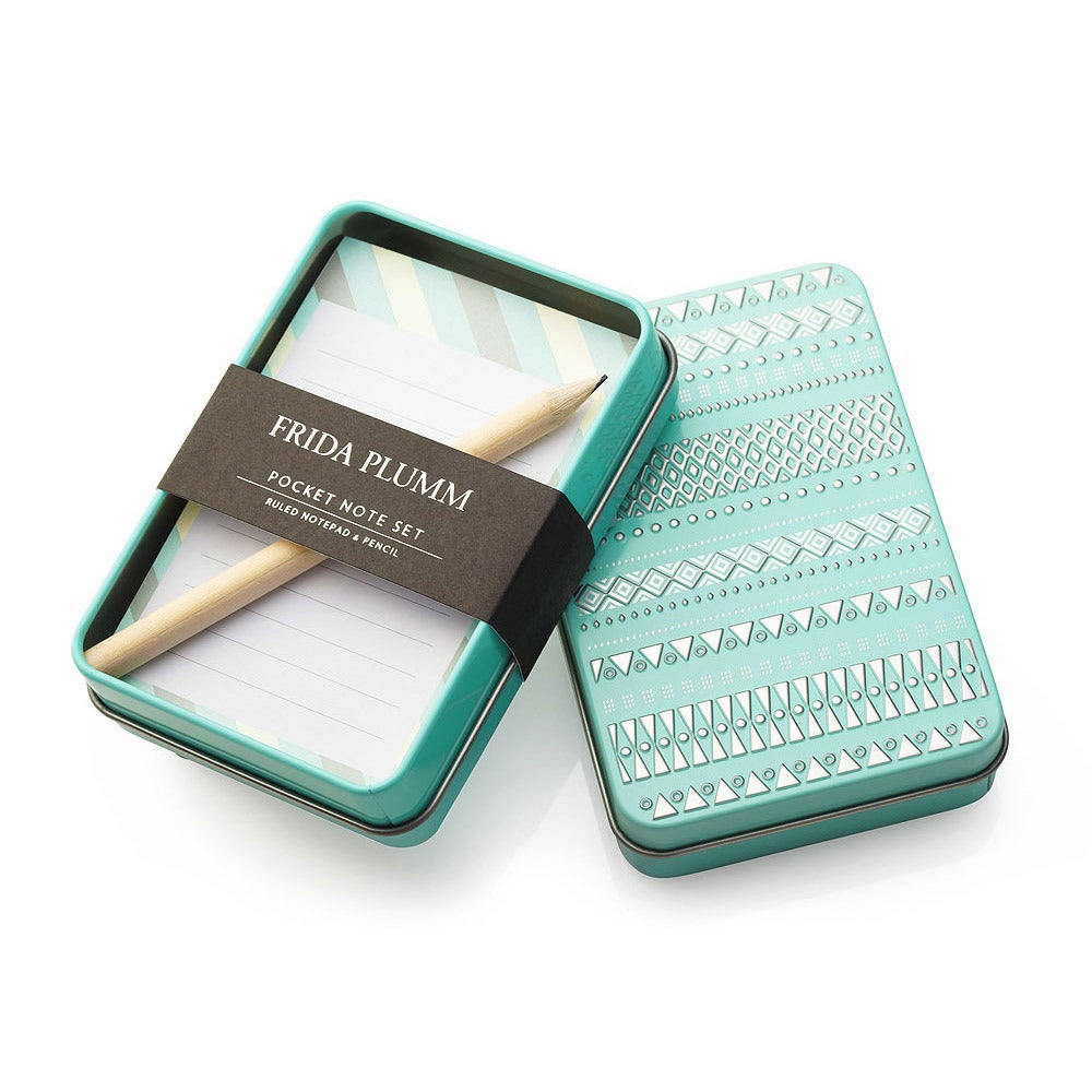 Image of Pocket Note Set (Aqua)