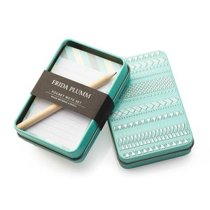 Image of Pocket Note Set (Aqua)