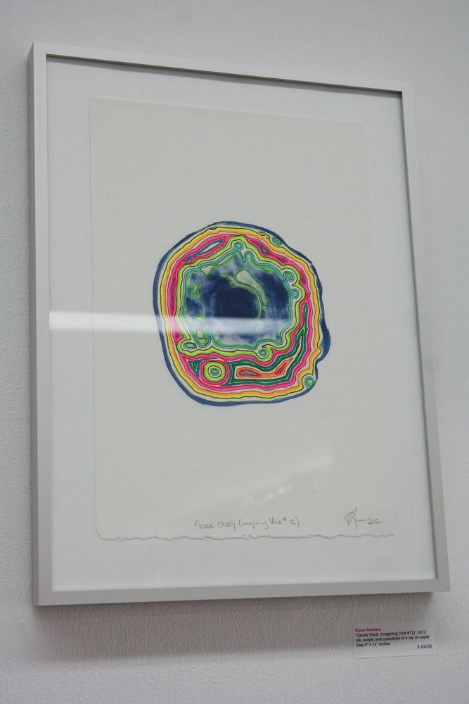 Image of Elyse Graham 'Geode Study (imagining Void #12)', 2012