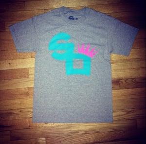 "Image of Square Off Logo Tee ""Miami Vice"""
