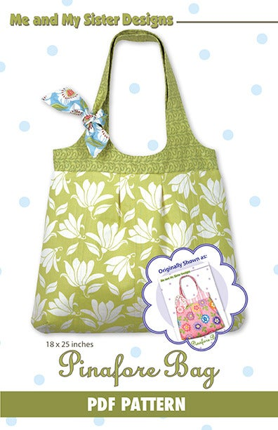 Pinafore Bag Electronic Pdf Pattern Me And My Sister Designs