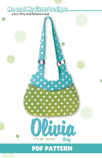 Image of Olivia Bag PDF pattern