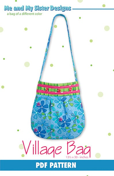 Image of Village Bag PDF pattern