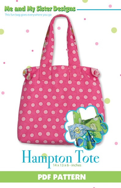 Image of Hampton Tote PDF pattern