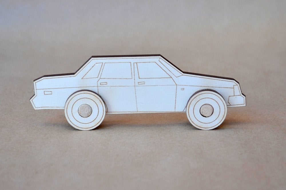 Image of  DIY Retro Car Kit 1