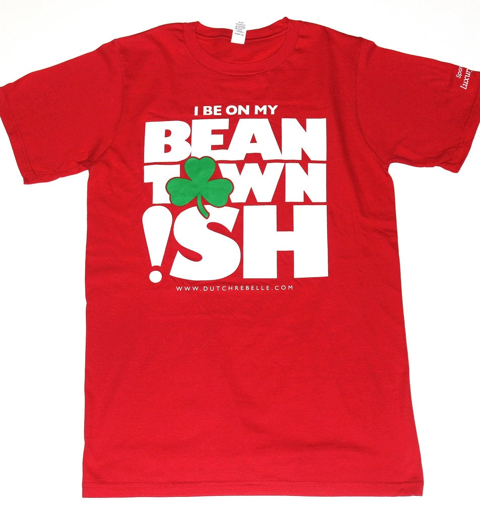 """Image of The """"Beantown Ish"""" T-Shirt (Red)"""