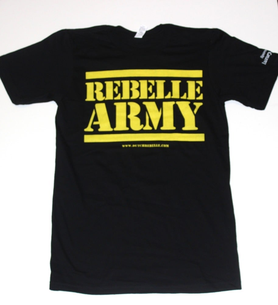 """Image of The """"ReBelle Army"""" T-Shirt (Black)"""