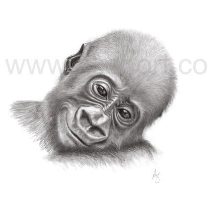 Image of Nona, smiling - limited edition print