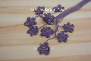 """Image of Floret Tie-Back in 0015 """"Lilac"""""""