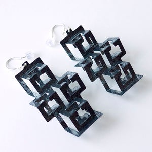 Image of Flatpack Earring - CROSS