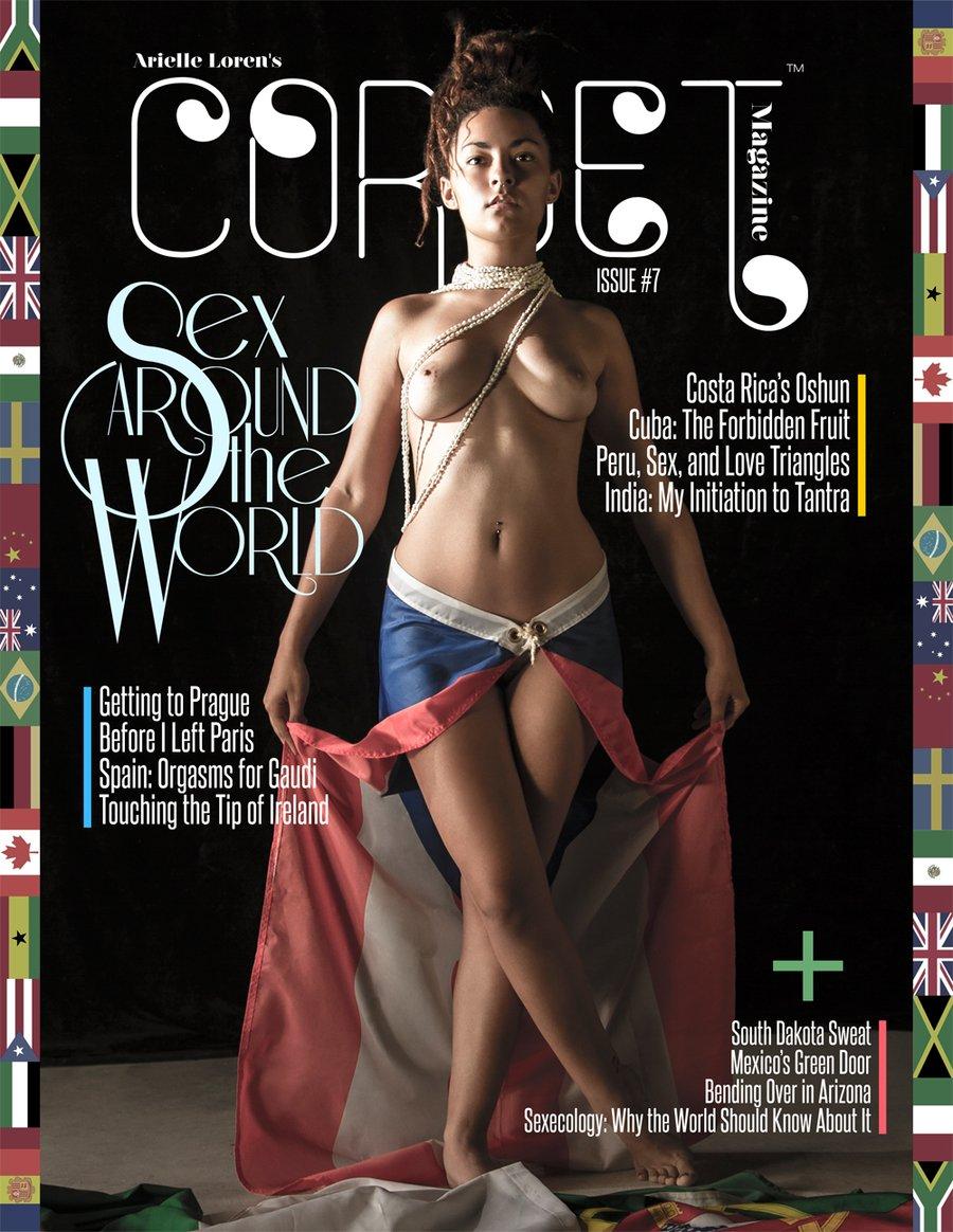 Image of Corset Magazine, Issue 7, Sex Around the World (Digital)