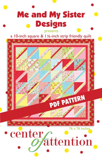 Image of Center of Attention PDF pattern