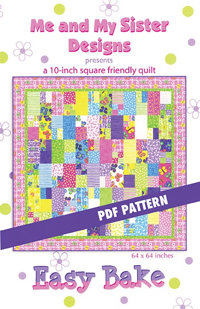 Image of Easy Bake PDF pattern