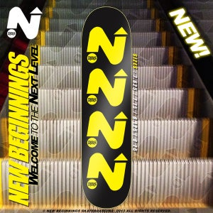 "Image of ""NEXT LEVEL"" SERIES TEAM LOGO SKATEBOARD"