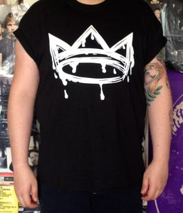 Image of First Edition Black Crown Tee