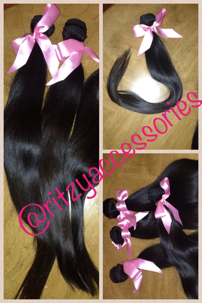 Image of 5A Unprocessed Straight Brazilian Virgin Hair