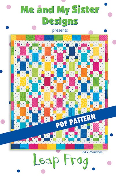 Image of Leap Frog PDF pattern