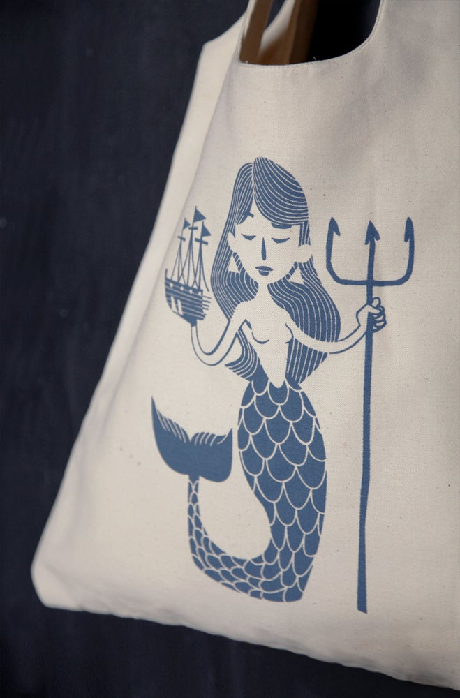 "Image of ""Mermaid"" tote bag"