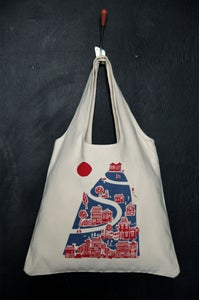"Image of ""Acropolis Hill"" tote bag"