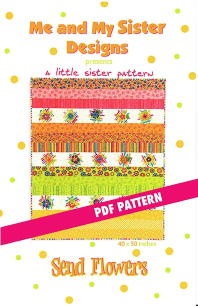 Image of Send Flowers PDF pattern