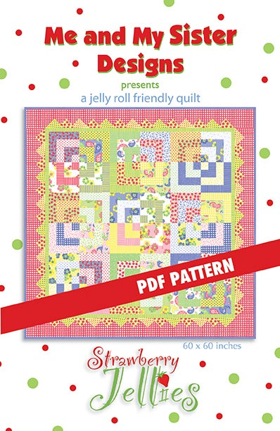 Image of Strawberry Jellies PDF pattern
