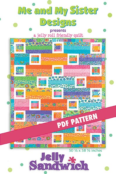 Image of Jelly Sandwich PDF pattern
