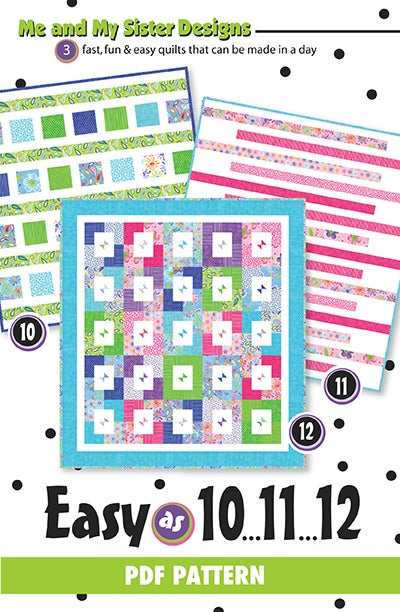 Image of Easy as 10.11.12 PDF pattern
