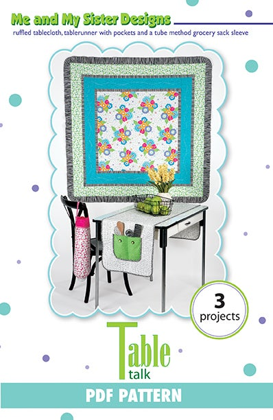 Table Talk Pdf Pattern Me And My Sister Designs