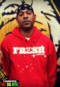 "Image of ""FRESH"" red HOODIES LIMITED EDITION"
