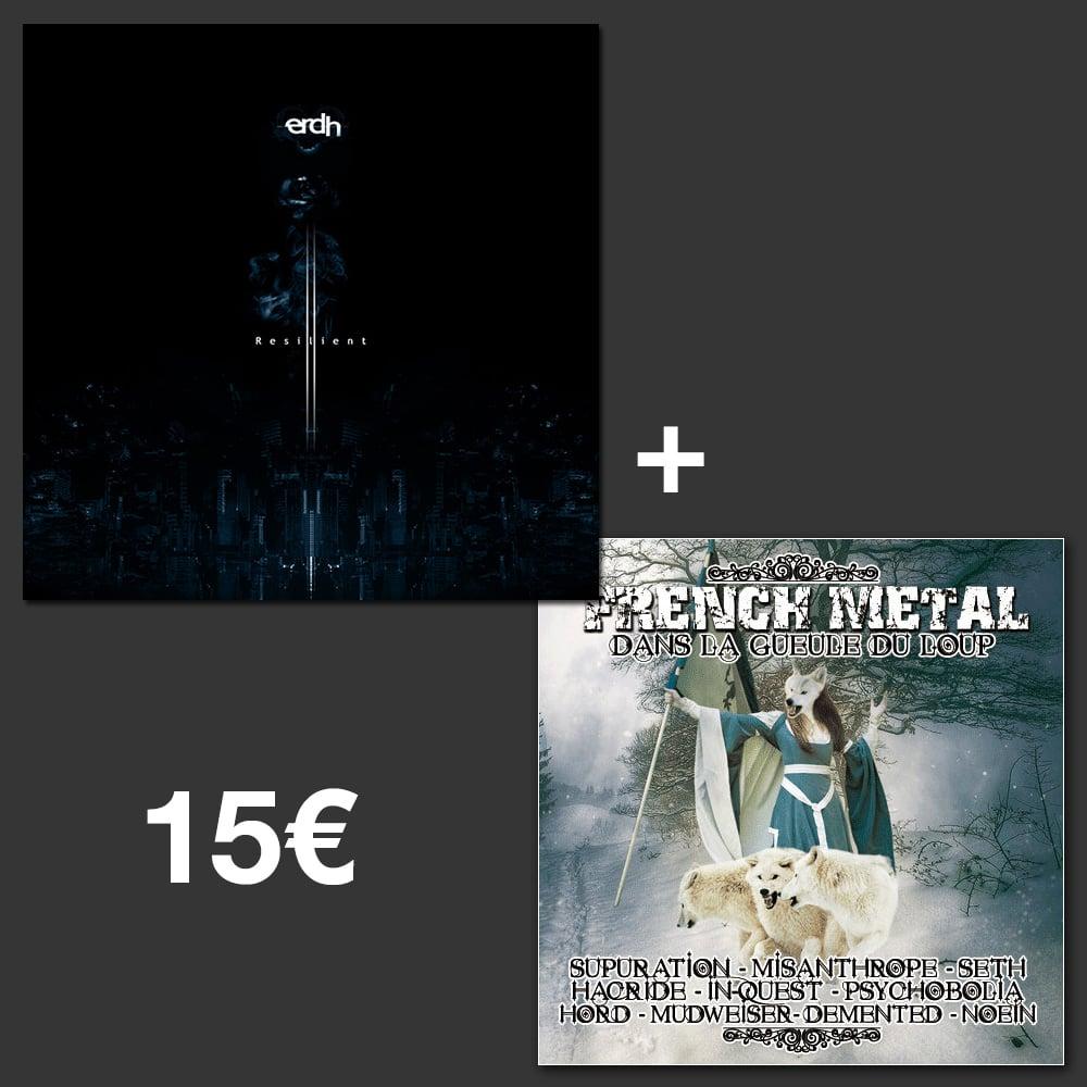 """Image of Special Bundle : Resilient + """"Dans la Gueule du Loup"""" Compilation !"""