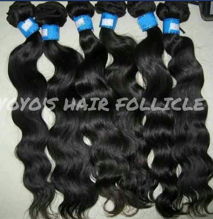 Image of 3 Bundle deal Virgin Brazilian Hair
