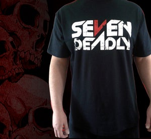 Image of Seven Deadly T-Shirt (50% Off - 1 Small / 4 XXL in stock)
