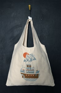 "Image of ""Santorini Arrival"" tote bag"