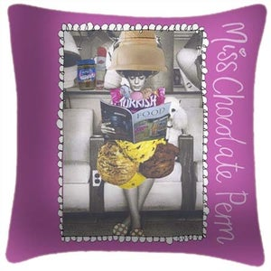 Image of Miss Chocolate Perm Cushion