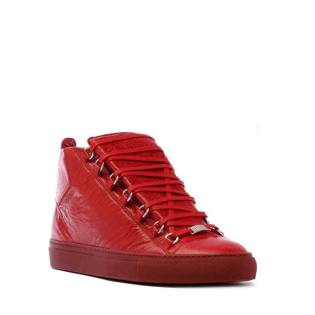 Red Balenciaga Shoes For Sale