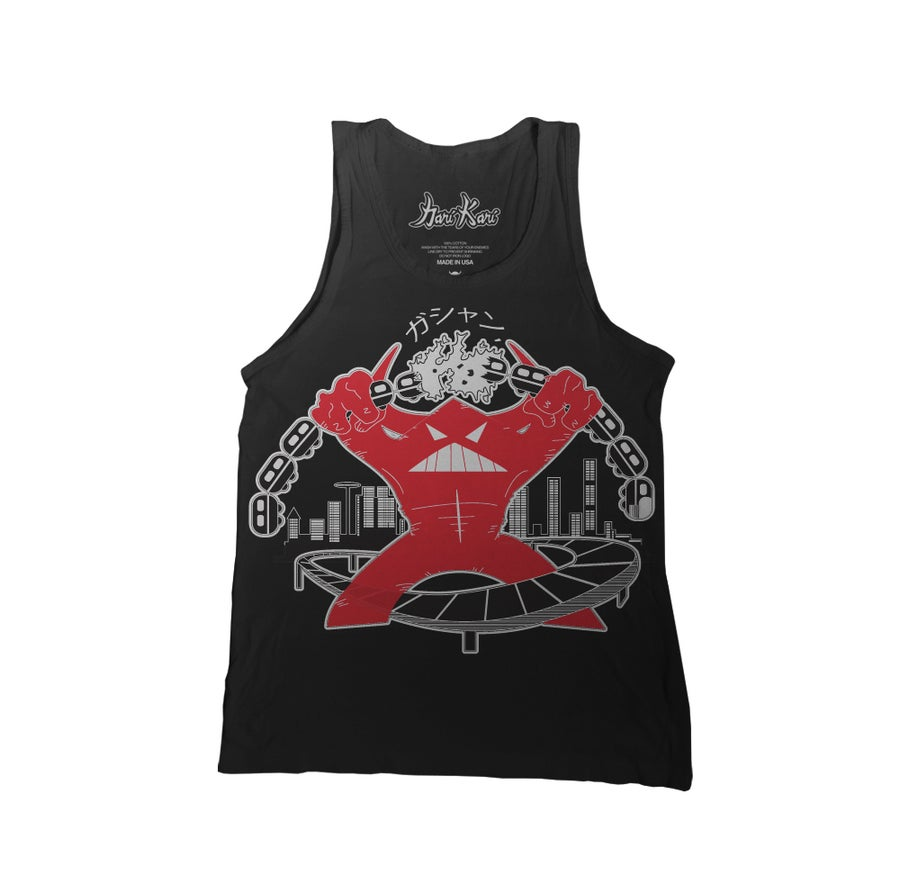 Image of Kaiju Train Wreck Tank Top
