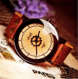 Image of Handmade Watch / Vintage Watch / Wrist Watch / Leather Watch / Quartz Watch (WAT0021)