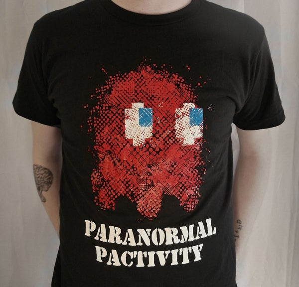 "Image of ""Paranormal Pactivity""-Black Unisex Tee"