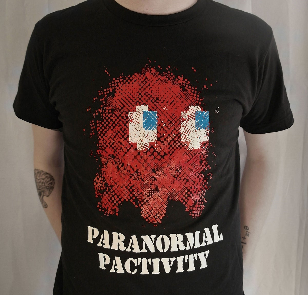 """Paranormal Pactivity""-Black Unisex Tee"