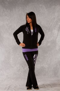 Image of Butterfly / Yoga Pants - Black