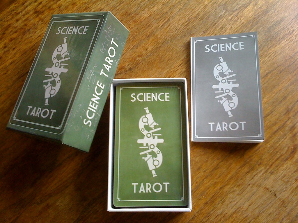 Image of Science Tarot Deck